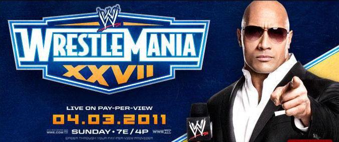 wwe wrestlemania 27. WWE WrestleMania XXVII, 27