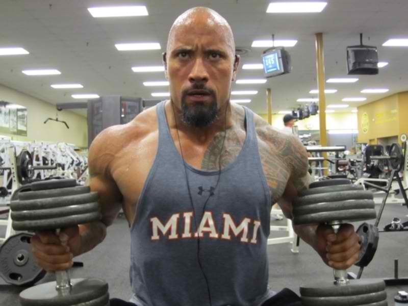 Health and Fitness with The Rock
