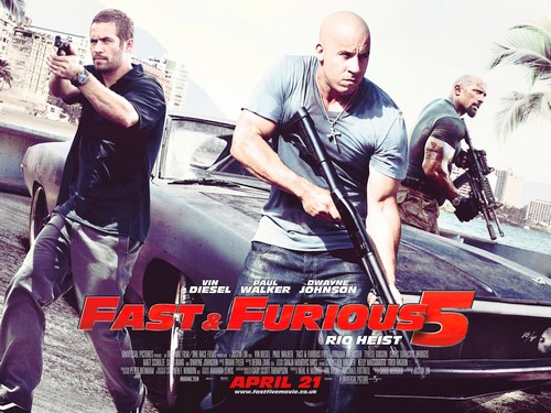 "new fast five poster. New UK ""Fast Five"" Poster"