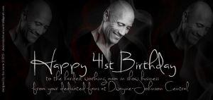 Happy Birthday Dwayne Johnson 2013
