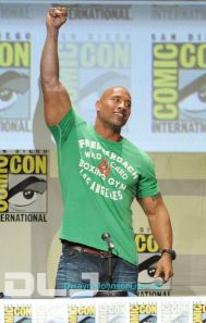 Dwayne Johnso - Paramount Studios Presentation at Comic-Con #13
