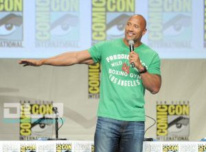 Dwayne Johnso - Paramount Studios Presentation at Comic-Con #6