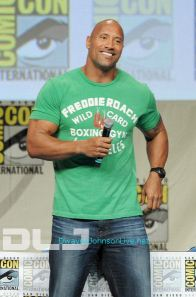 Dwayne Johnso - Paramount Studios Presentation at Comic-Con #8