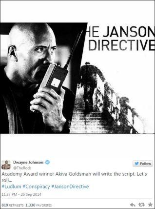 Dwayne Johnson Janson Directive